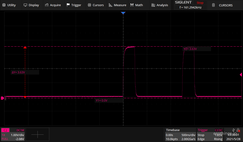 DL01 3V3 input to HCT